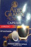 Alto Grande Coffee Capsules Espresso 3.5oz 18 cap