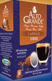 Alto Grande Coffee Capsules Lungo Espresso 3.5oz 18 Cap