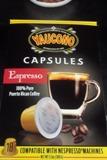 Yaucono Coffee Capsules Espresso 3.5oz 18 cap