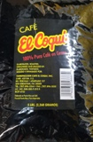 El Coqui Coffee Bean 5 Lbs