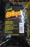 El Coqui Coffee Bean 5 Lbs