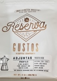 Gustos Reserva Adjuntas Bean Coffee 8.oz