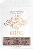 Gustos Reserva Las Marias Bean Coffee 8.oz