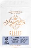 Gustos Reserva Natural Bean Coffee 8.oz