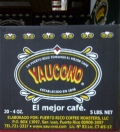 Yaucono Coffee 20 bag of 4oz. = 5 Lbs