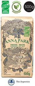 Anna Park Organic Yerba Mate Loose Leaf Tea -Traditional South American Tea Drink - 17.6OZ (500g)